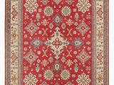 Red 8 X 10 area Rug E Of A Kind Derrall Hand Knotted Red Beige 8 X 10 Wool area Rug