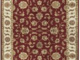 Red 8 X 10 area Rug Hand Tufted 8 X 10 Wool Red Brown area Rug