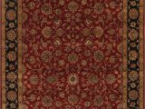 Red 8 X 10 area Rug Traditional All Over Red Agra Indo oriental area Rug 8×10