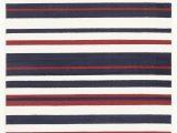 Red and Blue Modern Rug Modern Stripes Rug Blue Red White