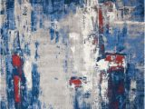 Red and Blue Modern Rug Twilight Chic Grey Blue Rug Twilight Chic Rugs Modern