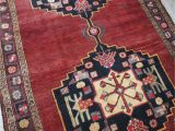 Red and Blue Persian Style Rug Sydney Medallion Vintage Persian Rug Blue Salvage Vintage Rugs and Handmade Bohemian Home Decor