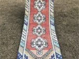 Red and Blue Vintage Rug Pin Su Gift Ideas From Etsy