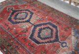 Red and Blue Vintage Rug Red Sea Vintage Persian Rug — Blue Salvage