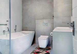 Red and Gray Bathroom Rugs Bunce Print Absorbent soft Multiple Non Slip Patchwork Bath Rug