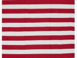 Red and White Striped area Rug Fab Rugs Nantucket Red White Striped Rug
