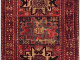 Red Black and Gold area Rugs Safavieh Vintage Hamadan Vth 213 Rugs