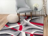 Red Black Grey area Rugs Summit St34 area Rug Black Red Gray Modern Abstract Many Aprx Sizes Available 5 X 8 Actual is 4 10 X 7 2