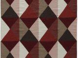 Red Brown and Tan area Rugs Amazon Jaipur Living Ritner Handmade Geometric Red Tan