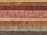 Red Brown and Tan area Rugs Stonover Striped Hand Knotted Red Brown area Rug