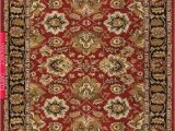 Red Brown Black area Rugs Feizy Yale Collection 8268f Red & Black area Rug
