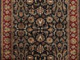 Red Brown Black area Rugs oriental Handmade Tufted Wool Black Brown Red area Rug