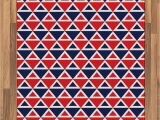 Red White and Blue Americana area Rugs Amazon Ambesonne Americana area Rug Usa Flag Inspired
