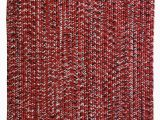 Red White and Blue Braided Rugs Aarush Hand Braided Red area Rug