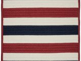 Red White and Blue Braided Rugs Amazon Portico Rugs 2 X 8 Patriotic Stripe Red
