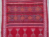 Red White and Blue Braided Rugs Kilim Rug Red White Rugs Kilim Rugs Bedside Rug Handmade