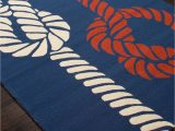 Red White Blue Rug Sea Knotty Navy Blue Red and White area Rug Navy Blue