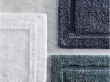 Reversible Bathroom Rugs Sets Reversible Resort Cotton Bath Rug Frontgate