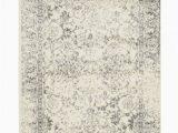 Reynolds Ivory Silver area Rug Adirondack Abstract Ivory Silver area Rug