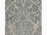 Reynolds Ivory Silver area Rug Mcguire Hand Tufted Ivory Silver area Rug