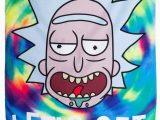 """Rick and Morty area Rug Calhoun Rick and Morty Indoor Wall Banner 30"""" by 50"""" Get Schwifty"""