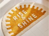 Rise and Shine Bath Rug Rise and Shine Bath Mat