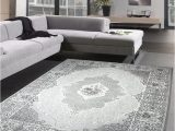 Roses Department Store area Rugs Living Room Rug Classic Carpet oriental with Roses Gray Size 120×170 Cm