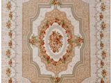 Roses Department Store area Rugs Wolala Home Coral Velvet Beige Roses Livingroom Carpet Washable Non Slip Bedroom Carpet solid Home Decorator Floor Rug Baby Crawling Mats 4 6×6 6