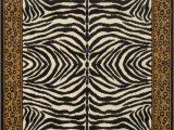 Round Animal Print area Rugs Contemporary Animal Print area Rugs Modern Leopard Zebra