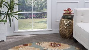 Round area Rug 5 Ft Buy 5 3 Round Universal Rugs Transitional Floral 5 Ft 3