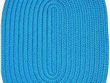 Round Blue Braided Rug Amazon Veranda 10 Round Braided Rug In Cobalt Kitchen