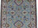 Round Blue oriental Rugs Details About Sky Blue Classic Floral Design 3×5 Handmade Oushak oriental Round Rug Carpet