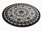 """Round Brown Bathroom Rug Black & White Red Blue Brown Mandala Round Home Decor Bathroom Rug soft Bath Mat Eco Friendly Gift for Her Diameter 40"""""""