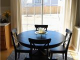 Round Dining Table area Rug How to Place A Rug with A Round Dining Table