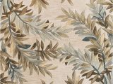Round Palm Tree area Rug Amazon Kas Rugs 3126 Sparta Tropical Branches Round