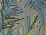 Round Palm Tree area Rug Montego Palm Tropical Wool area Rug In 2020