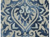 Royal Blue and Gold area Rug Safavieh Dip Dye Ddy 511 area Rugs