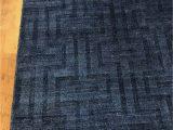 """Royal Blue and Grey area Rug Artisan 9 9"""" X 7 9"""""""