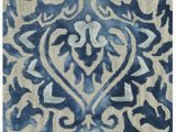 Royal Blue and Grey area Rug Safavieh Dip Dye Ddy 511 area Rugs