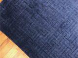 Royal Blue and Grey Rug Artisan 99 X 79
