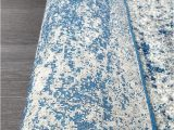 Royal Blue and Grey Rug Mirage Modern 355 Rug Royal Blue Grey Runner