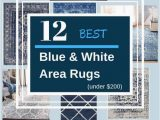 Royal Blue and White area Rugs 12 Best Navy and White area Rugs Under $200