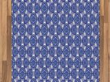 Royal Blue and White area Rugs Amazon Ambesonne Turkish Pattern area Rug Blue and