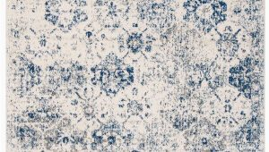 Royal Blue and White area Rugs Macy oriental White Royal Blue area Rug In 2020