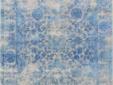 Royal Blue and White area Rugs Rq Hsv 2 Sparkle White Royal Blue Saraswatii Global area