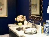 Royal Blue Bath Rug Sets Blue and Gold Bathroom Accessories