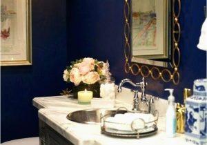 Royal Blue Bath Rug Sets Blue and Gold Bathroom Accessories