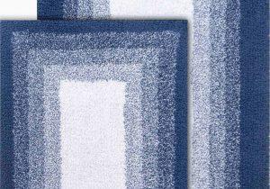 "Royal Blue Bath Rug Sets Chesapeake Whitney Ombre 2pc Reversible Deep Denim Washable Bath Rug Set 21""x34"" & 17""x24"" Walmart"
