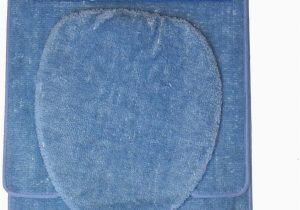 Royal Blue Bath Rug Sets Royal Trading 3 Piece Bathroom Set Blue