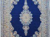 Royal Blue oriental Rug Royal Neel Rani Persian Woolen Rug
